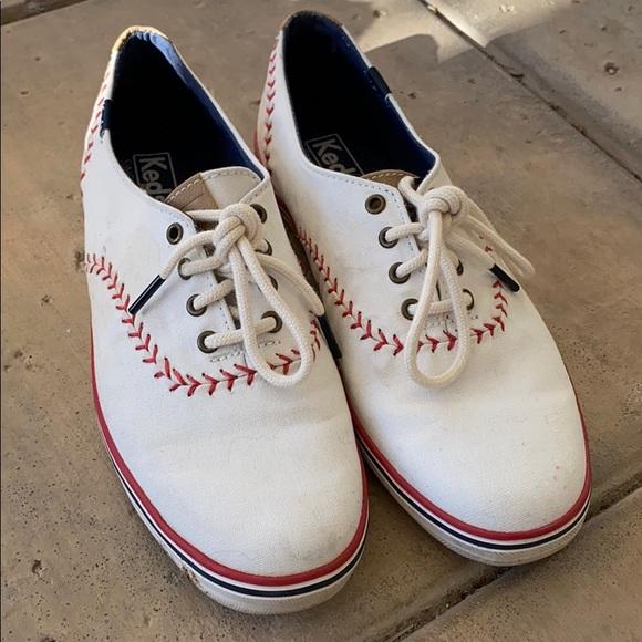 Boston Red Sox Ked's baseball tennis shoes